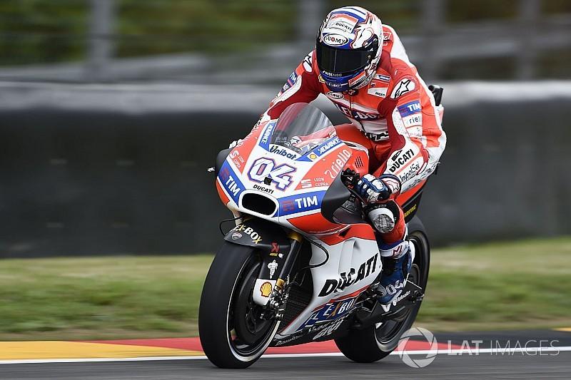 Brno MotoGP: İkinci seanın en hızlısı Dovizioso, Folger ikinci
