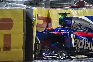Kvyat és az újabb KO: falban a Toro Rosso