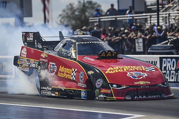 NHRA Race report Courtney Force wins in Arizona as father John escapes explosion