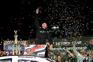 NASCAR Race report Ronnie Bassett Jr. earns first K&N East win in season opener