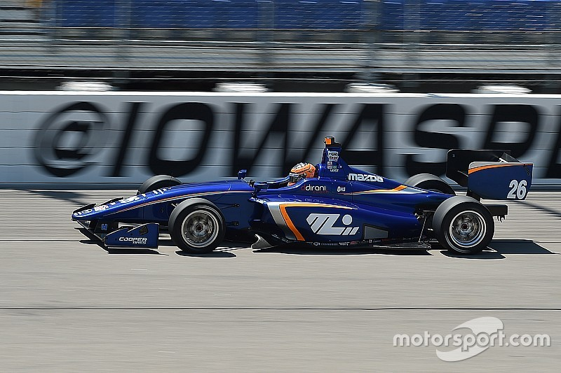 Iowa Indy Lights: Leist stuns his rivals with dominant drive