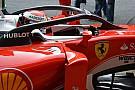 Ferrari начала испытания системы защиты головы