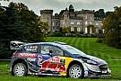 WRC ラリー・GBを制したエバンス、来季オジェのチーム残留を強く願う