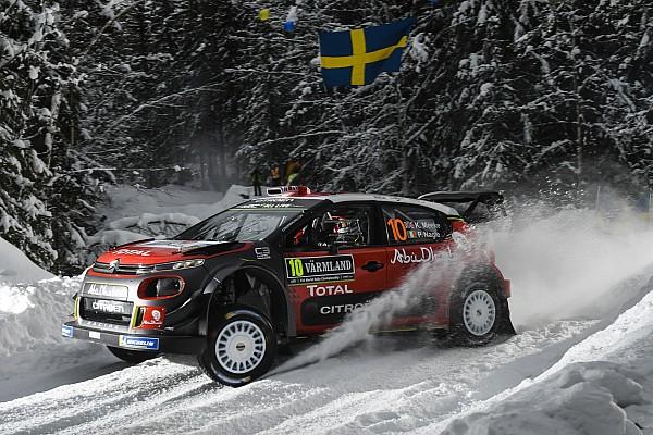 Galería: las mejores fotos del arranque del Rally de Suecia 2018