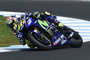 MotoGP 速報ニュース ロッシ、トップ10を逃した理由は「ミディアムで作業をしていたから」