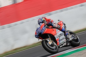 MotoGP Practice report Barcelona MotoGP: Dovizioso leads Rabat in warm-up