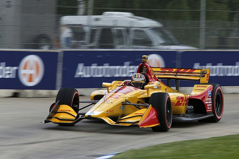 IndyCar Detroit: Ryan Hunter-Reay zermürbt Alexander Rossi