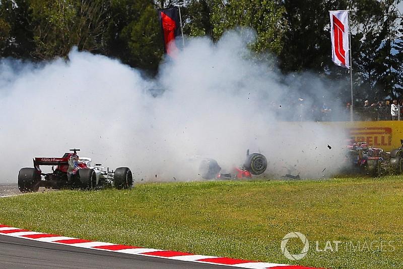 Grosjean sanctionné après l'accident du 1er tour