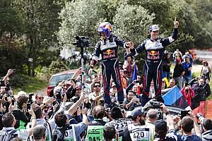 WRC Réactions Ogier :