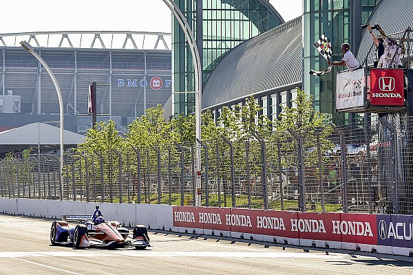 "IndyCar Breaking news Dixon on Toronto win: ""I just needed clear air and we could check out"""