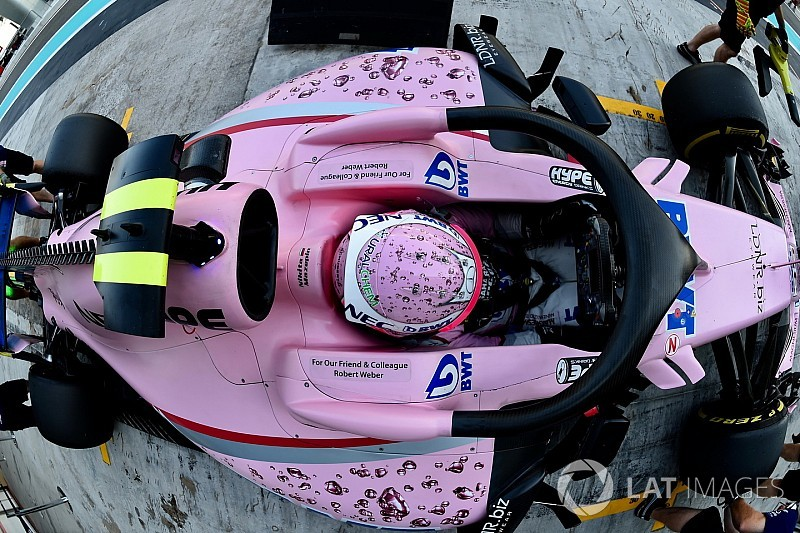 """Force India aprobó pruebas de choque a pesar del """"gran desafío"""" del Halo"""