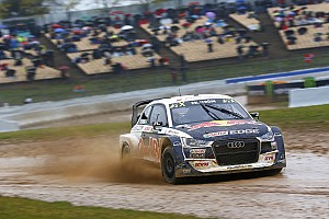 World Rallycross Race report Barcelona World RX: Ekstrom wins opener amid Solberg woe