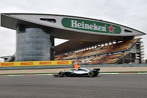 F1 练习赛报告 中国大奖赛周五自由练习:汉密尔顿全天最快,但莱科宁紧随其后