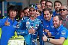 MotoGP Iannone commosso: