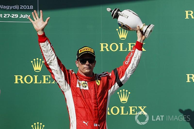 """Raikkonen diz que terceiro na Hungria """"não foi final feliz"""""""