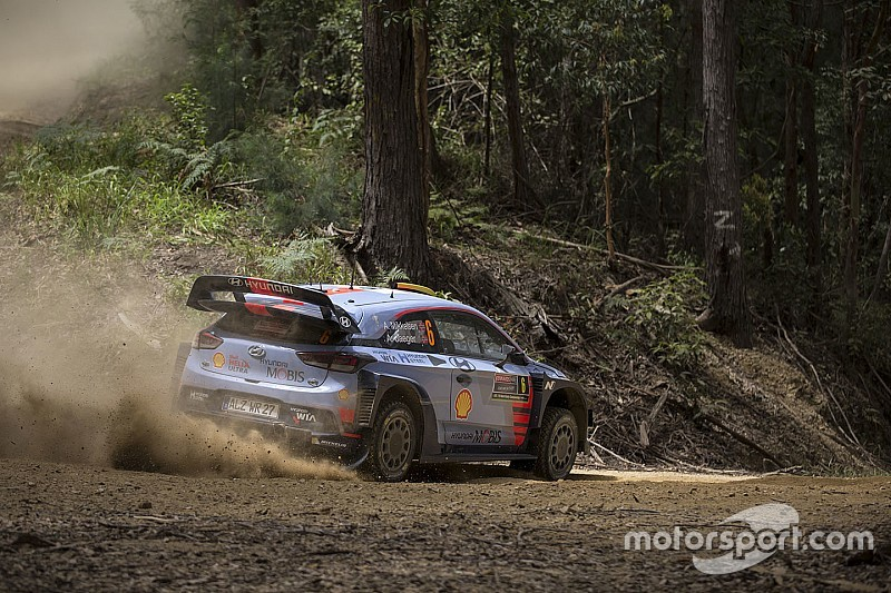 WRC Australien: Andreas Mikkelsen dominiert den Freitag