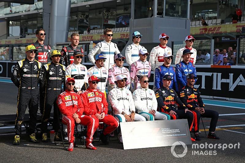 Ranking: Die Formel-1-Fahrer 2019 sortiert nach ihrer Körpergröße