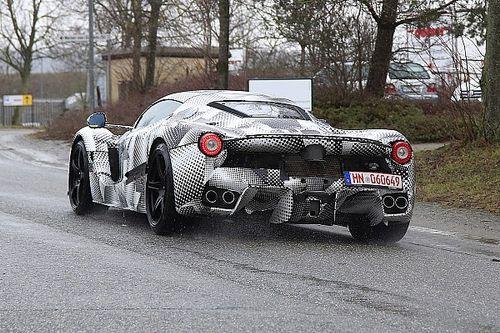 Más pistas del nuevo Ferrari que se estrenará en noviembre