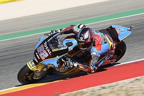 Moto2, Teruel, Libere 2: brilla Lowes, faticano gli italiani