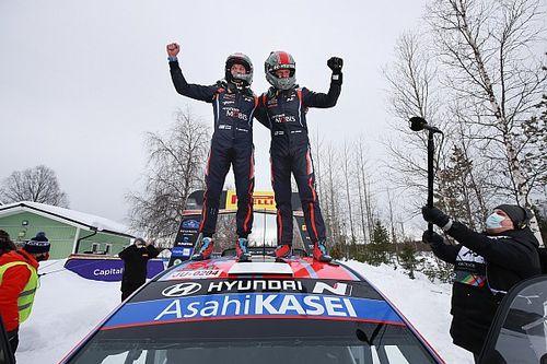 Tanak ondanks vierde en zesde stek naar eindzege Arctic Rally