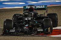 Bahrain GP: Hamilton tops FP2 as Albon shunts heavily
