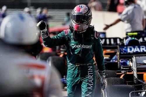 """Vettel: """"Birkaç tur daha olsa Tsunoda'yı zorlayabilirdim"""""""