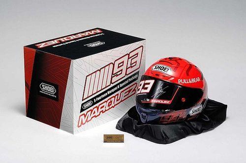 El casco especial Shoei X-Fourteen Márquez 6 llegará en noviembre