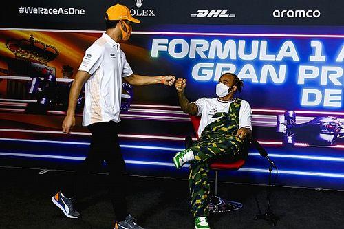 Ricciardo: Hamilton's hard-fought F1 wins silencing doubters