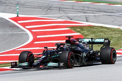 西班牙大奖赛FP2:梅赛德斯占据前二,汉密尔顿最快