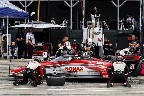 Strategie breekt VeeKay op in tweede IndyCar-wedstrijd Detroit