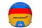 Формула 1 Алонсо радикально изменил раскраску шлема