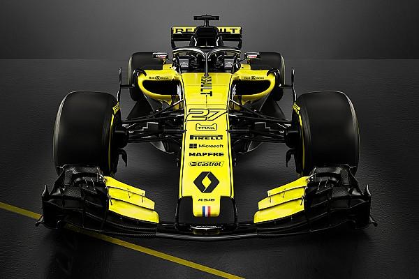 Формула 1 Новость Renault показала машину для нового сезона Ф1