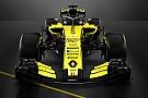 Formule 1 Renault stelt knalgele Formule 1-wagen voor 2018 voor