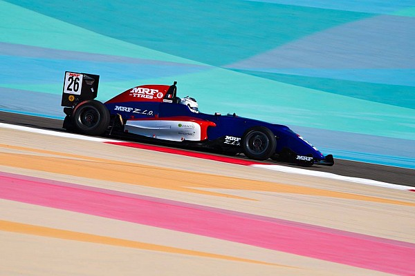 Indian Open Wheel Bahrain MRF: Falchero beats Van Kalmthout to win Race 4