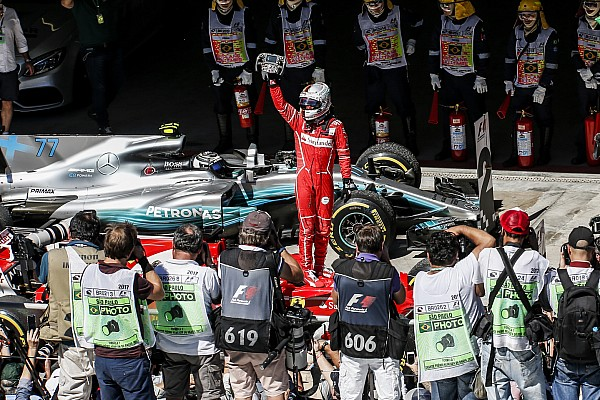 F1 La historia detrás de la foto: Vettel y Ferrari vuelven a sus días de gloria