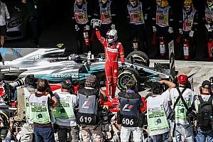 F1 Artículo especial La historia detrás de la foto: Vettel y Ferrari vuelven a la senda del triunfo