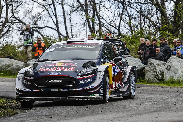 Corsica WRC: Ogier sets up half-minute lead over Neuville