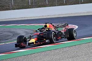 Formule 1 Toplijst In beeld: De eerste meters van Max Verstappen met de RB14