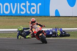 MotoGP Galería Galería: así fue la acción entre Rossi y Márquez en Argentina