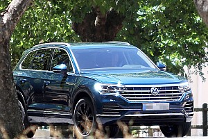 Automotive News Neuer VW Touareg komplett ungetarnt