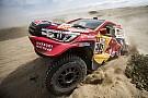 Dakar 4日目に大ブレーキのトヨタ勢。四駆に不利なレギュレーションに不満