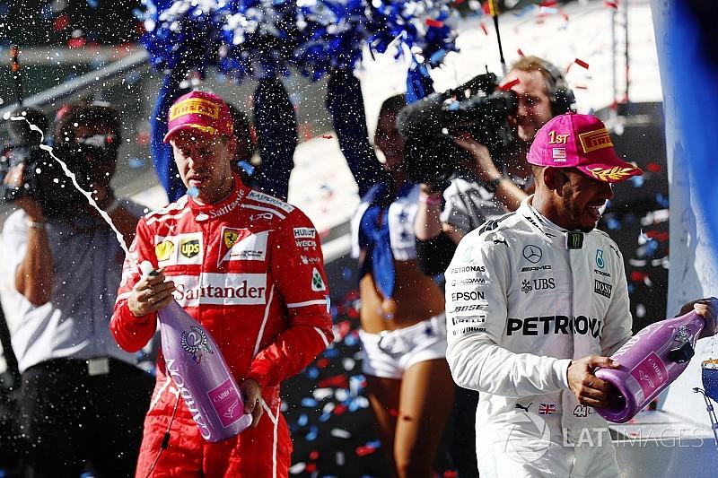 """Vettel: """"Contro questa Mercedes oggi sarebbe stato impossibile vincere"""""""