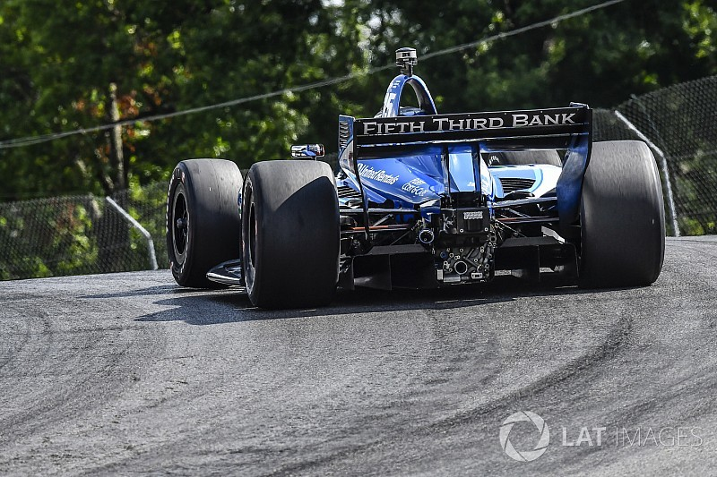 Mid-Ohio IndyCar: Local hero Rahal tops third practice