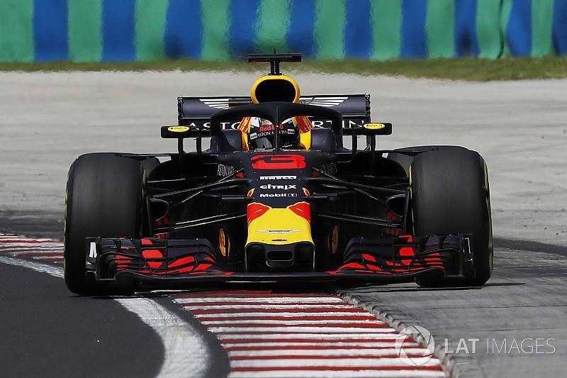 Hungarian GP: Ricciardo leads from Vettel in FP1