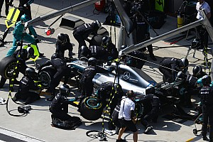 Formel 1 News Mercedes: Schnellster Boxenstopp seit 2016 half beim Undercut