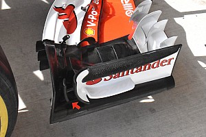 Ferrari rijdt in Amerika met groot updatepakket
