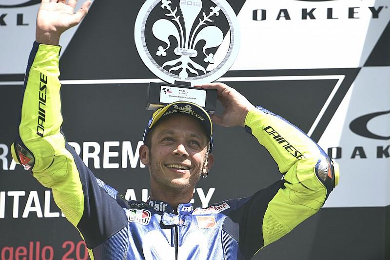 Trotz WM-Platz zwei: Rossi sieht sich nicht im Titelkampf