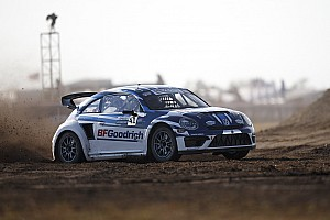 Global Rallycross Race report Scott Speed takes third straight Red Bull Global Rallycross win in inaugural Atlantic City showdown