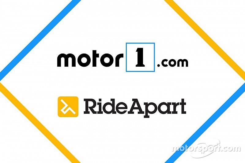 Motor1.com neemt het toonaangevende RideApart.com over