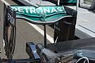 Технический брифинг: заднее крыло Mercedes W07